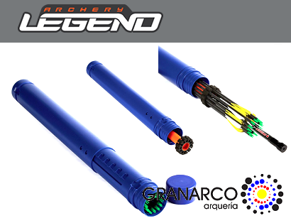 TUBO PORTAFLECHAS TELESCOPIC LEGEND