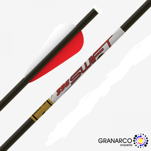 FLECHA COMPLETA BALLESTA SWIFT GOLD TIP