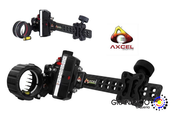 VISOR POLEAS CAZA ACCUTOUCH CARBON PRO SLIDER   AXCEL
