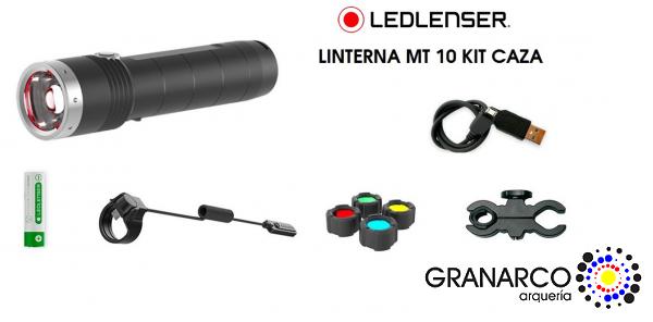 LINTERNA  MT10 KIT CAZA LED LENSER
