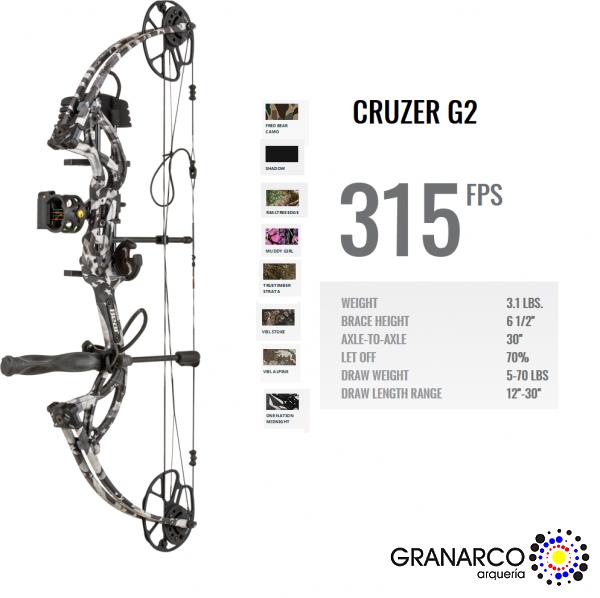 KIT ARCO POLEAS  CRUZER G-2 BEAR
