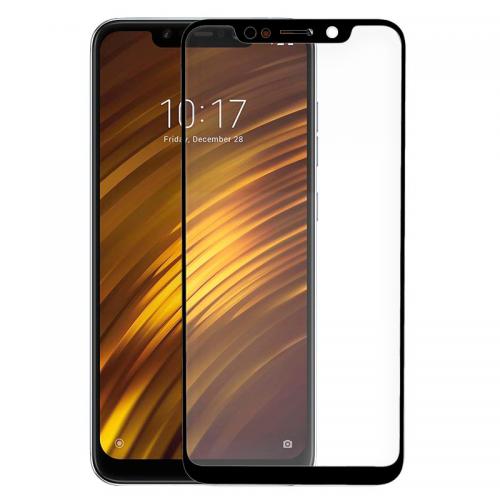 Protector Pantalla Cristal Templado Xiaomi Pocophone F1 (3D Negro)