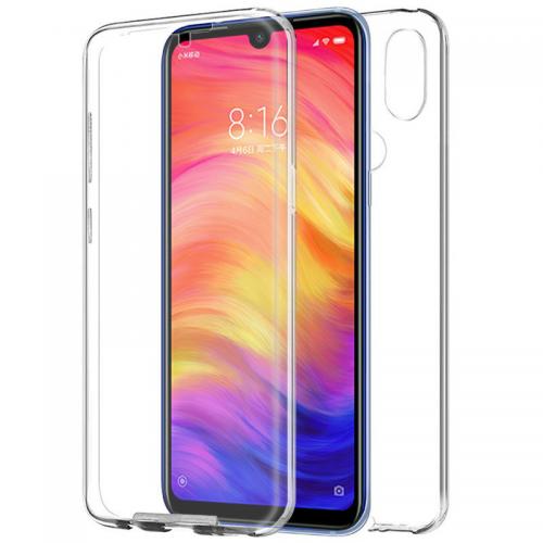 Funda Silicona 3D Xiaomi Note 7 / Note 7 Pro Transparente Frontal+Trasera