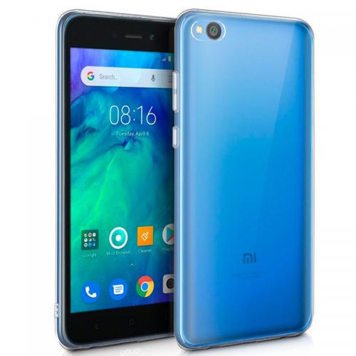 Funda Silicona Xiaomi Redmi Go (Transparente)