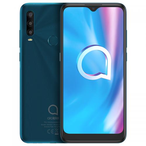 Alcatel 1SE (2020) - ágata verde - 4G - 64 GB - GSM - smartphone