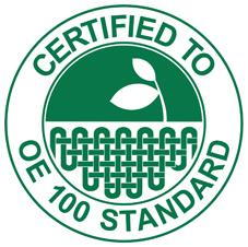 Las camisetas, polos, sudaderas y Keya ™ están certificados OE 100 Estándar